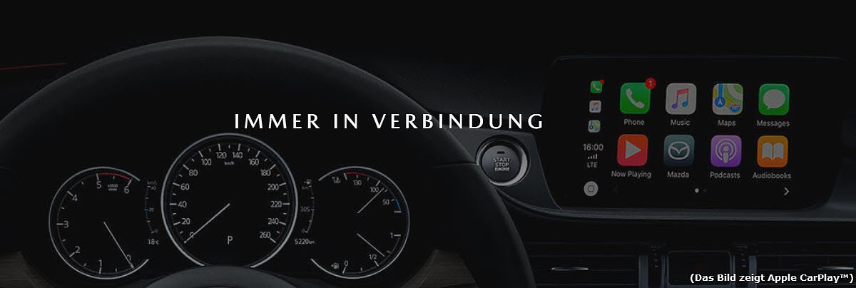 Immer in Verbindung - Mazda Connect